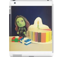 Gamora Birthday iPad Case/Skin