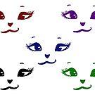 Kitty Smiles - multicolour by Anne van Alkemade