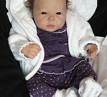 Lotus Reborn doll by Cassie Peek