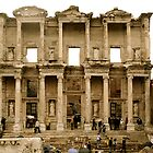 Library of Celsus, Ephesus, Turkey by John Linton