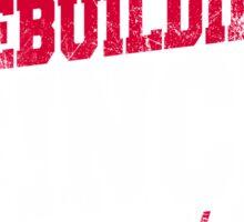 Cleveland Baseball Rebuilding Sticker