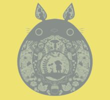 Inside Totoro Kids Clothes