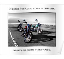 We Grow Old Poster