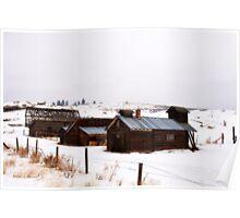 Barns of Okanogan Poster