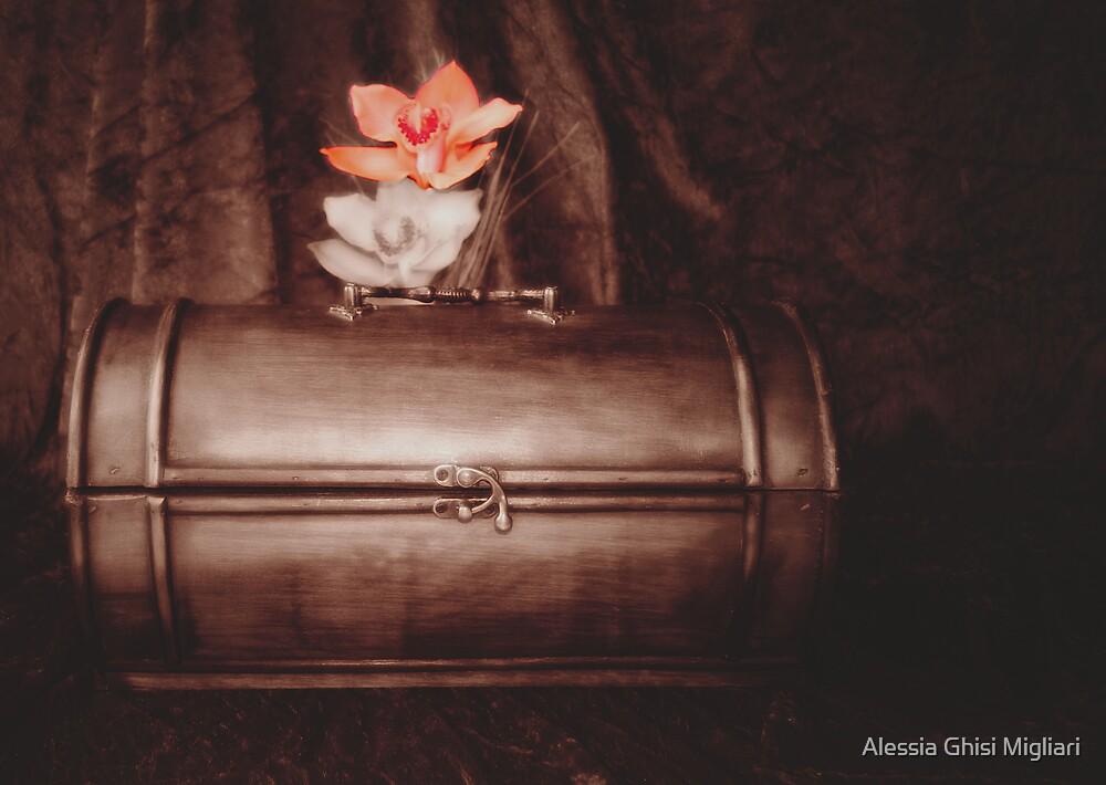 A woman's untold things II - Cose non dette di donna II by Alessia Ghisi Migliari