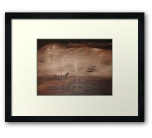 """Last Anglo Saxon King.... Sutton Hoo""  Kiss Me... or Kill Me Framed Print"