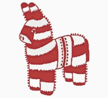 """""""I'm Going to Beat You Like a Pinata Until Your Goodies Fall Out."""" Funny Humor Silly Candy Candies Party Decor Donkey Burro Ass Kids Clothes"""