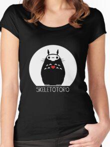 Skeletotoro Women's Fitted Scoop T-Shirt