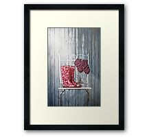 for rainy days Framed Print