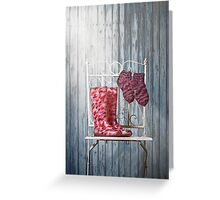 for rainy days Greeting Card