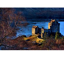 Eilean Donan Castle from Carr Brae. Dornie, Western Highlands of Scotland. Photographic Print