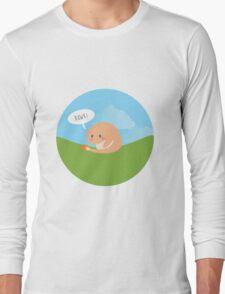 Lil' Charmander roaring Long Sleeve T-Shirt