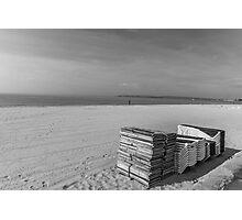 Bournemouth Beach  Photographic Print