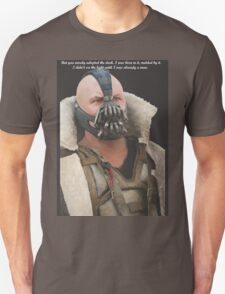 Bane Design with Quote T-Shirt