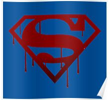 Superman Blood Poster