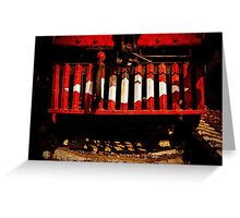Cow Catcher Greeting Card