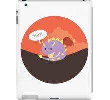 Lil' Spyro roaring iPad Case/Skin