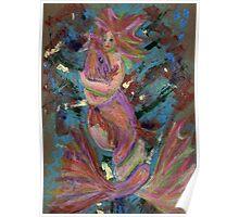 Mermaid and Fish Poster