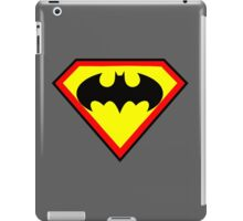 Superman and Batman iPad Case/Skin