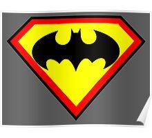 Superman and Batman Poster
