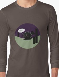 Lil' Ender dragon roaring Long Sleeve T-Shirt