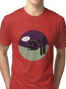 Lil' Ender dragon roaring Tri-blend T-Shirt