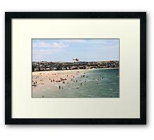 Surf-rescue.  Framed Print