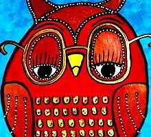 Owl Be Seeing You ... by Annastaysia Savage of AJ SavageArt