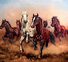 Hurry up my horses - seven angels by dusanvukovic