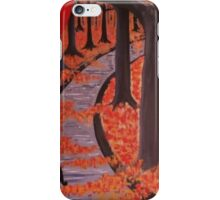 Fall in the Park iPhone Case/Skin