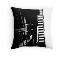 escaping the darkness Throw Pillow