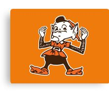 Johnny Manziel Cleveland Browns Elf Canvas Print