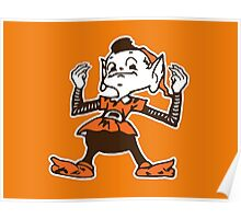 Johnny Manziel Cleveland Browns Elf Poster