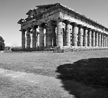Paestum: temple by Giuseppe Cocco