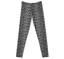 Barbed Wire Plaid Leggings
