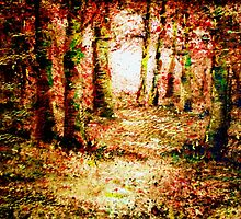 Heart of the forest'... by Valerie Anne Kelly