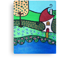 The House on the River Canvas Print