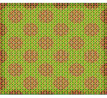 Fresh Flower Dots  Photographic Print