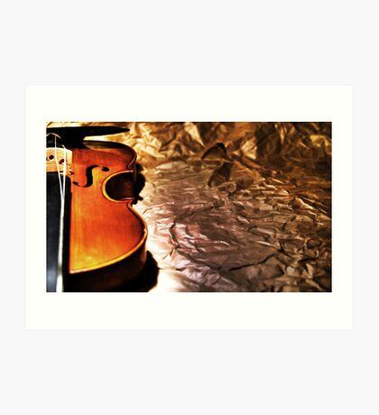 Dear Violin... Art Print