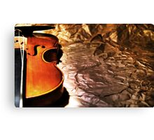Dear Violin... Canvas Print
