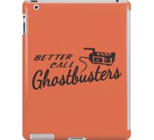 Better Call Ghostbusters iPad Case/Skin