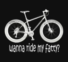 wanna ride my fatty? Kids Tee
