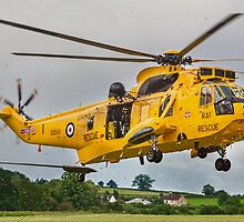 A Westland Sea King HA3.3 XZ593 Search & Rescue by Blitzer