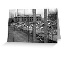 Demolition 2 Greeting Card