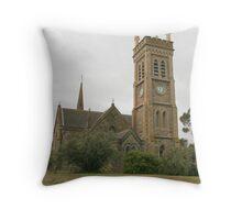"""St Andrew's Church, Strathalbyn"" Throw Pillow"
