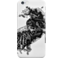 Painted Crow iPhone Case/Skin