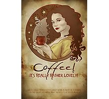 Coffee Propaganda Photographic Print