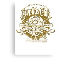 Cryptids Club (Light Shirt Version) Canvas Print