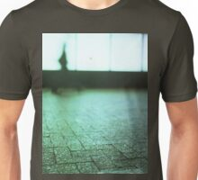 Man walking in city street Hasselblad medium format analog film Unisex T-Shirt