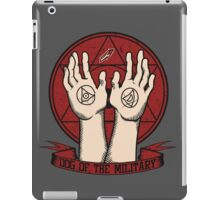 Dog of the Military: Crimson iPad Case/Skin